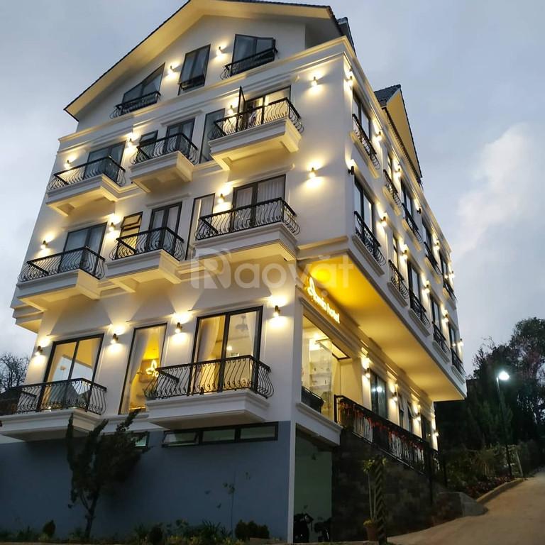 Bán khách sạn kiến trúc Boutique với 23 phòng kinh doanh tại Đà Lạt