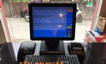 Lắp đặt máy tính tiền cảm ứng cho quán trà sữa tại Kiên giang rẻ