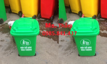 Thùng rác nhựa công cộng, giá sỉ, Tân Phú