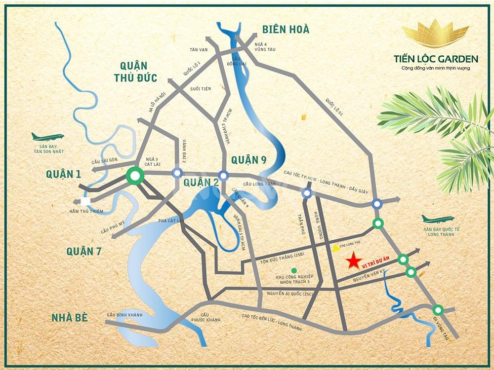 Nhận đặt chổ dự án Tiến Lộc Garden Nhơn Trạch