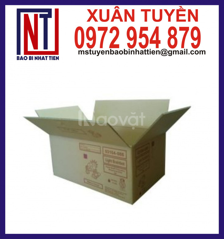 Thùng carton đóng hàng hóa