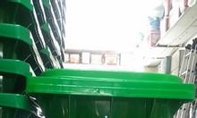 Thùng rác 240L - thùng rác công cộng - bán thùng rác giá rẻ