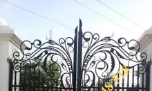 Cổng sắt cnc, cổng sắt uốn nghệ thuật cho biệt thự, nhà phố