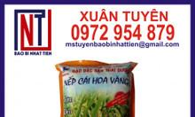 Bao bì gạo 2kg, bao bì gạo xuất khẩu