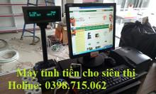 Lắp đặt máy tính tiền tại Kiên Giang cho siêu thị giá rẻ