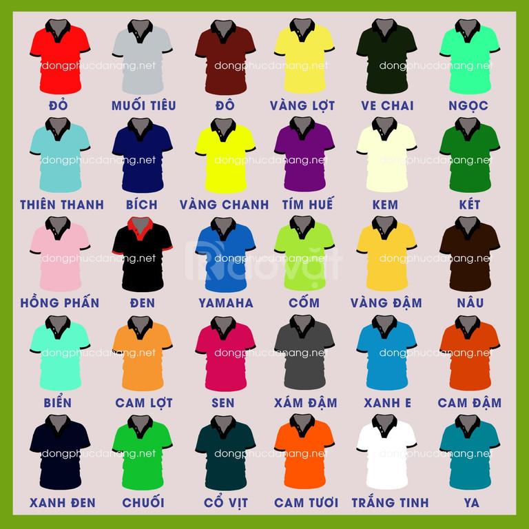 Cách phối màu áo đồng phục