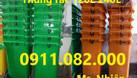 Bán thùng rác 120 lít 240 lít giá rẻ tại Đồng Nai thùng rác nắp kín  (ảnh 1)