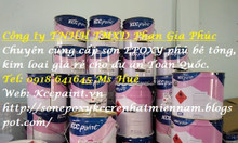 Sơn Epoxy kcc cho sắt thép: lót chống rỉ EP170, lót kẽm EP1760 giá rẻ