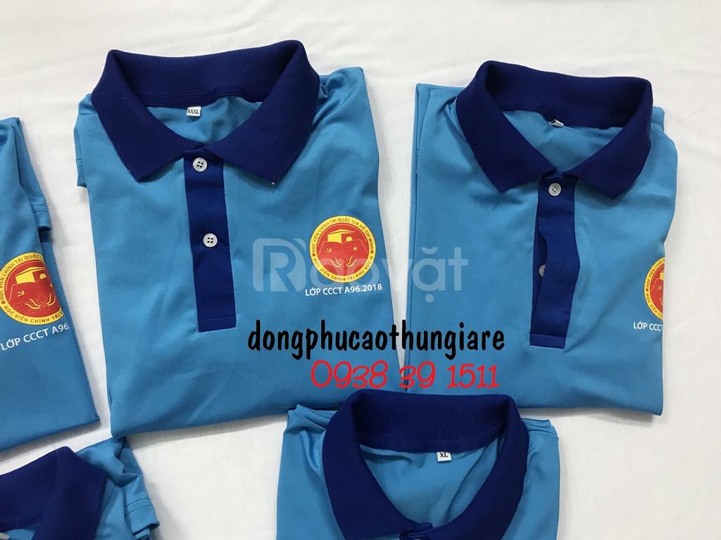 May áo thun đồng phục công ty, áo thun quảng cáo giá rẻ tại TPHCM