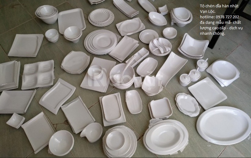 Chuyên tô chén hàn nhật, bát đĩa đẹp, chén dĩa hàn