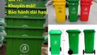 Bán thùng rác 120 lít 240 lít giá rẻ tại Đồng Nai thùng rác nắp kín  (ảnh 5)