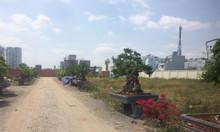 Đất nền sổ đỏ mặt tiền quận 7 DT 58m2/nền