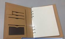Công ty sản xuất sổ da, sổ tay bìa da, sổ bìa còng cao cấp