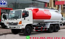 Đại lý bán xe bồn chở xăng dầu xe bồn xăng dầu 18 khối Hino FM8JNS