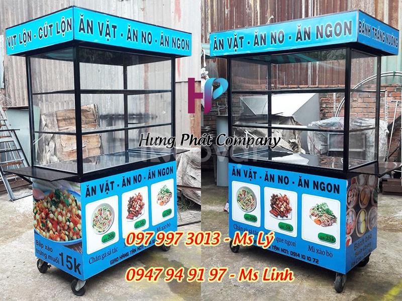 Xe bán thức ăn nhanh, xe bán đồ ăn vặt (ảnh 1)