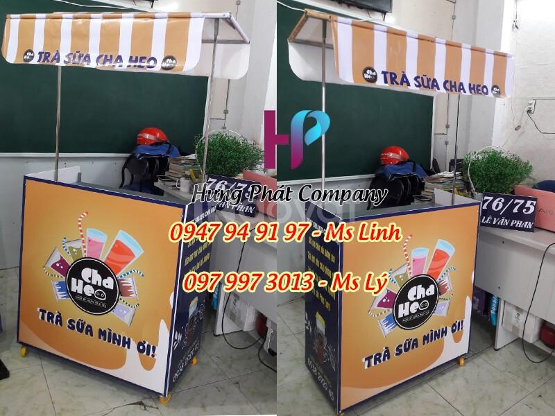 Xe bán hàng lắp ráp gọn nhẹ giá rẻ tại Hồ Chí Minh