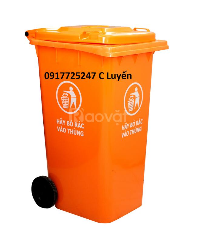 Bán thùng rác 240 lít