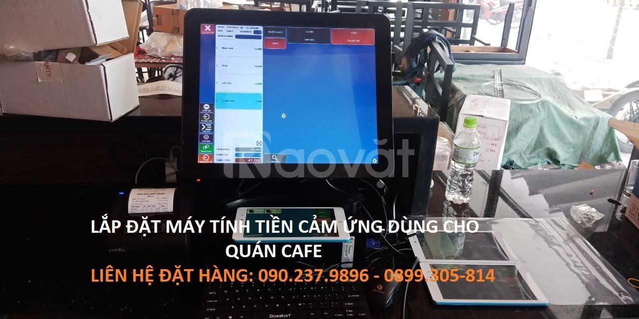 Bán máy tính tiền cảm ứng dùng cho Nhà Hàng, Cafe