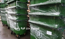 Thùng rác 240L - thùng rác 660L - thùng rác công cộng - bán thùng rác