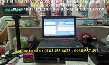 Bộmáy tính tiền giá rẻ cho cửa hàng, shop mỹ phẩmtại Đà Nẵng