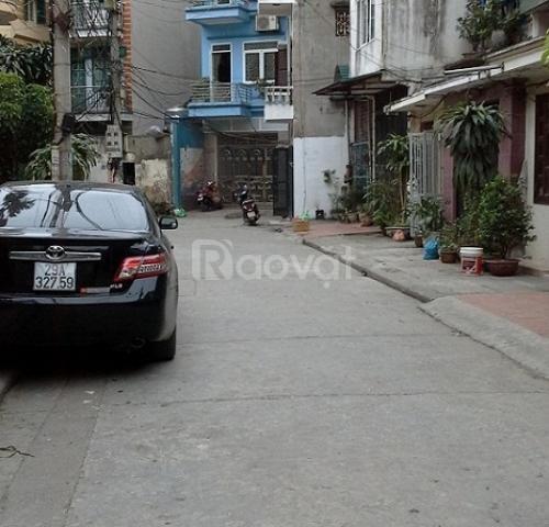 Bán nhà Hoàng Quốc Việt - 4 tầng - 100m2 ôtô tránh nhau (ảnh 2)