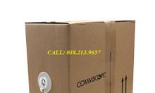 Dây cáp mạng amp cat5e, dây cáp mạng commscope Cat6