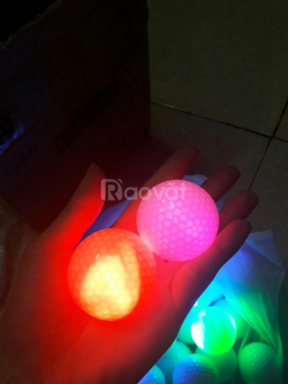 Combo 10 bóng golf phát sáng chơi ban đêm