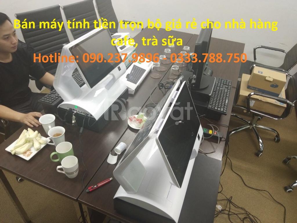 Chuyên bán máy tính tiền trọn bộ cho nhà hàng, cafe, trà sữa