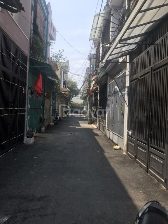 Bán nhà hẻm 252 Phạm Văn Chiêu, hẻm thông 6m đẹp, 4x12m