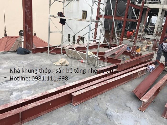 Báo giá thi công nhà khung thép