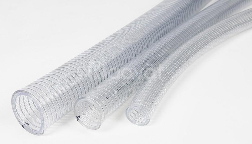 Ống nhựa trong suốt lõi kẽm dẫn truyền chất lỏng
