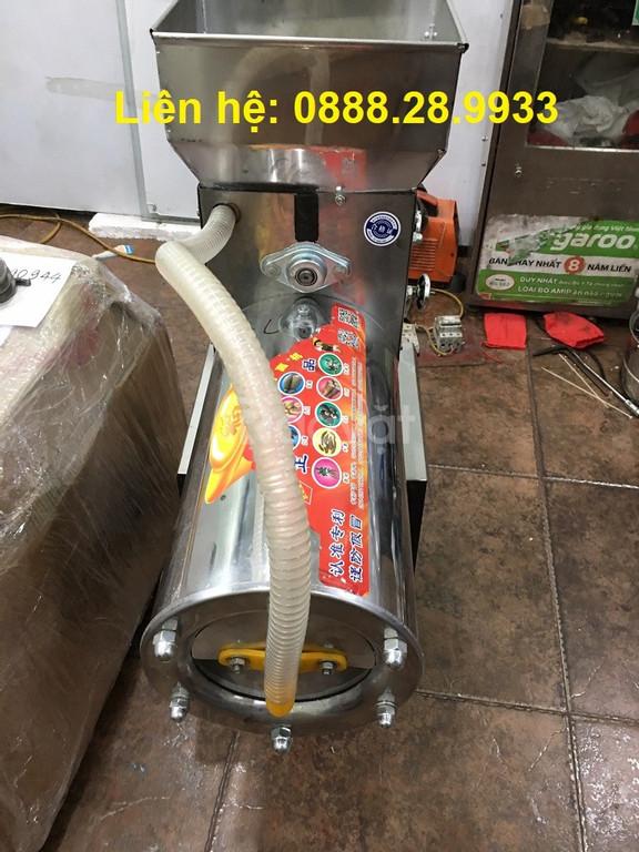 Máy xay nghiền vắt liên hoàn tinh bột nghệ Inox TBN-680