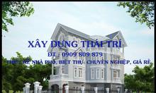 Nhận thiết kế nhà phố, biệt thự, quận 12, Hóc Môn, Bình Tân