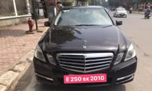 Mercedes E250 đời 2010, màu đen