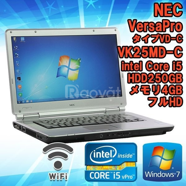 NEC VersaPro VD-G i5 3340 2.7Ghz 4G 320G 15.6in FullHD Made in Japan
