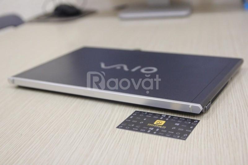 Laptop Sony vaio Z 13in SSD128G cao cấp Pro VIP lúc mới bán là 63Tr