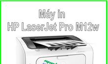 Máy in hp laserjet pro m12w giá tốt