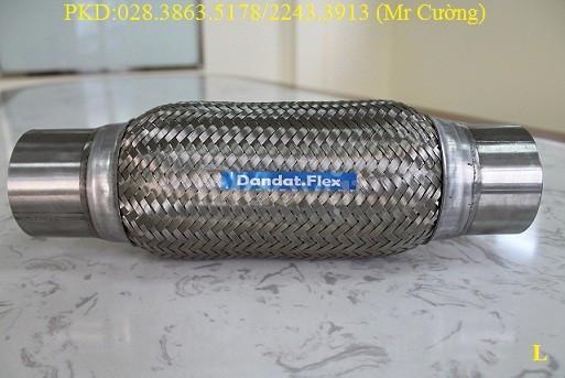 Ống xả máy phát điện, ống bô inox 304, bô zin chống rung inox