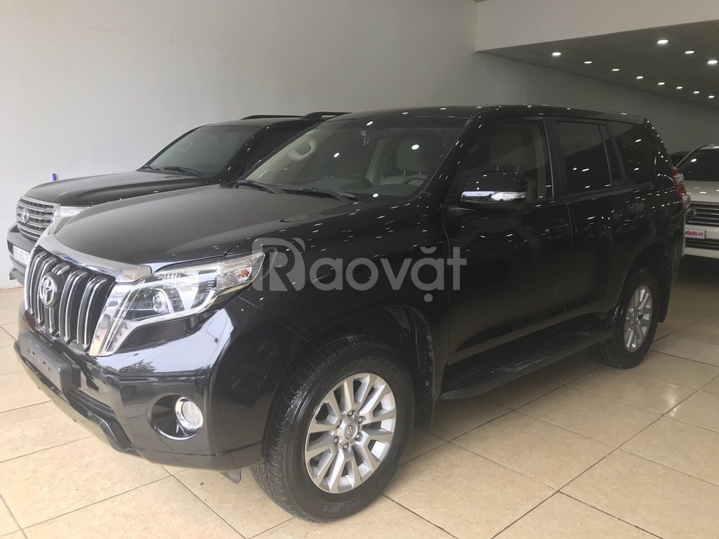 Toyota Prado sản xuất và đăng ký 2016, màu đen, tên cty, biển Hà Nội