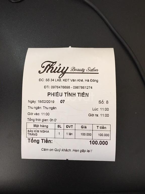Máy tính tiền giá rẻ cho Salon tóc nail tại Quận 1 Quận 2