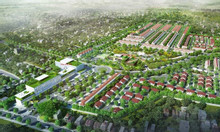 Bán 172m2 đất tặng nhà 3 tầng mặt đường chính KĐT Vsip