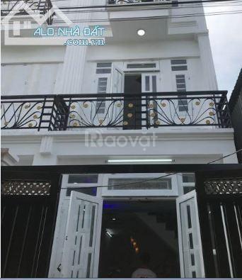 Bán gấp nhà đúc 1 trệt 1 lầu, Nguyễn Oanh, GV, giá 1,27 tỷ/căn