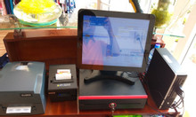 Thanh lý trọn bộ máy tính tiền cho shop tại Kiên Giang