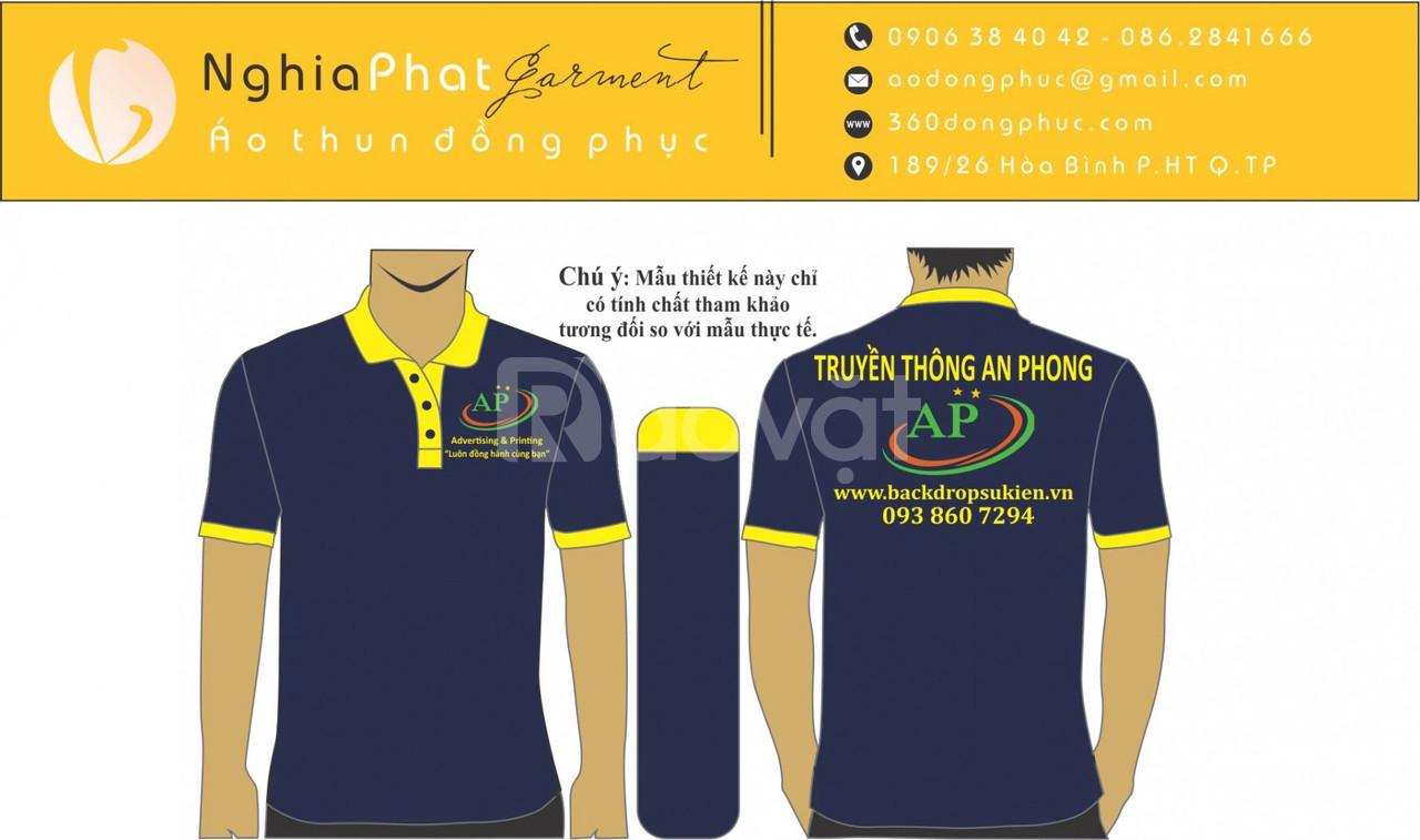 Công ty áo thun đồng phục giá rẻ quận 3 (ảnh 4)