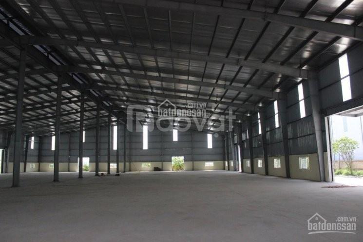 Cho thuê nhà xưởng 700m2 mặt đường 32, ngã tư Nhổn 50tr/tháng