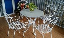 Ghế sắt cafe sân vườn thanh lý giá rẻ