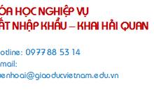 Học nghiệp vụ kinh doanh xuất nhập khẩu Đà Nẵng