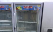 Tủ mát Sanyo 2 cánh mở trên dưới 405l