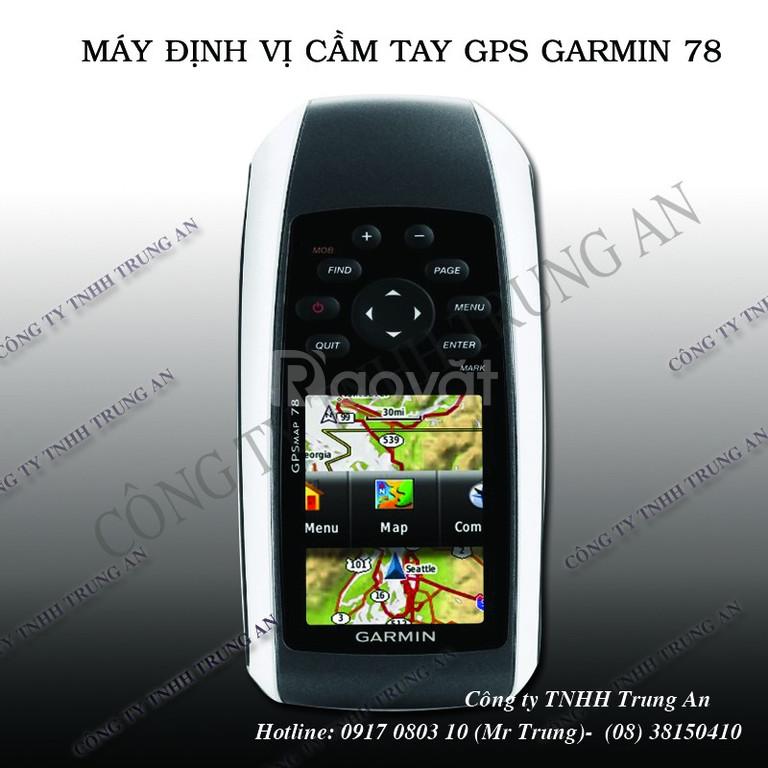 Máy đo diện tích đất định vị GPS cầm tay Garmin Map 78