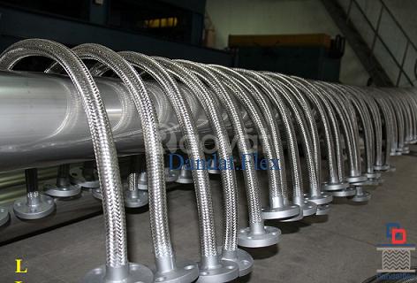 Ống nối inox 304, ống nối mềm giảm chấn, khớp nối mềm chống rung inox